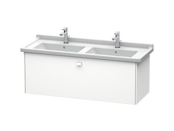 Double wall-mounted vanity unit with drawers BRIOSO | Double vanity unit by Duravit