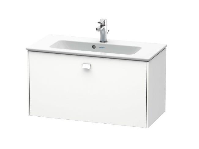 Mobile lavabo singolo sospeso con cassetti BRIOSO | Mobile lavabo ...