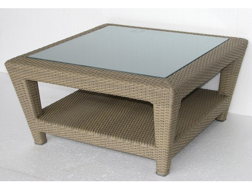 Low garden side table BRITON | Coffee table by Les jardins