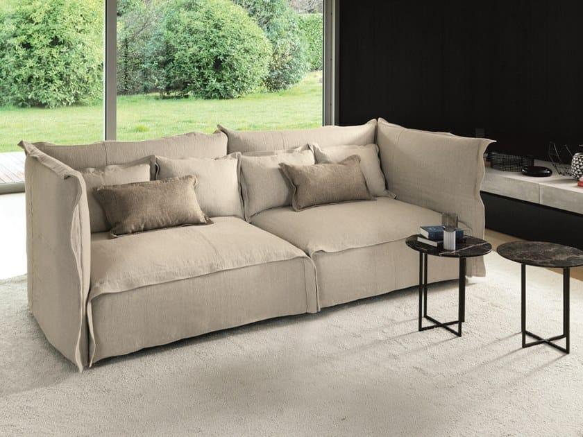 Sofa aus Stoff mit abnehmbarem Bezug BRITT By Désirée divani