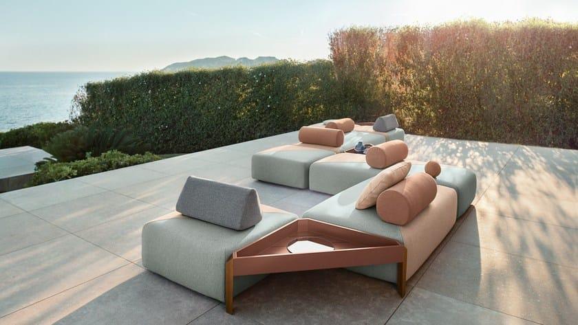 Gepolstertes Modulares Sofa BRIXX | Sofa By Dedon