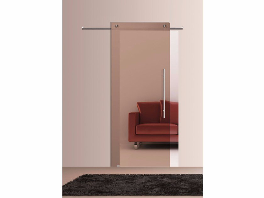 Stained Glass Sliding Door Bronze By Casali
