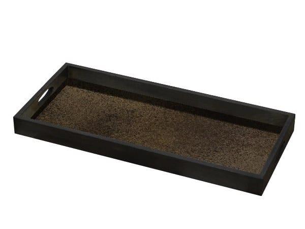 Glass tray BRONZE MIRROR by Notre Monde