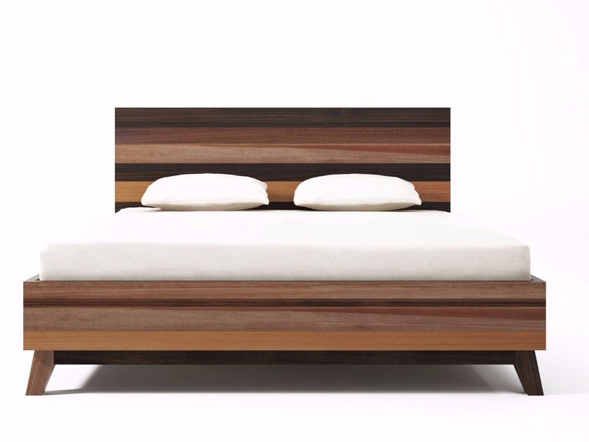 quality design cf952 d65f9 Reclaimed wood queen size bed BROOKLYN BF32EU-MH By ...