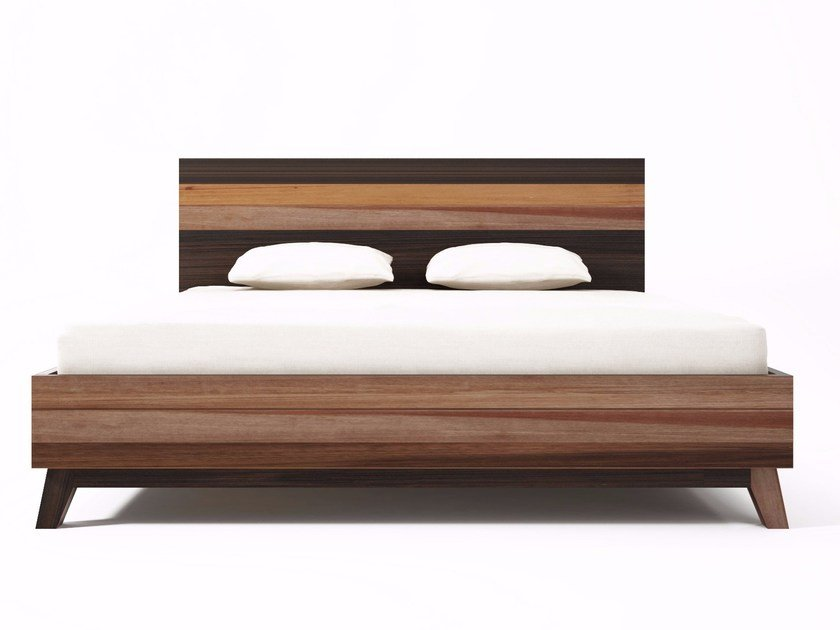 Letto king size in legno in stile moderno BROOKLYN BF33EU-MH by KARPENTER