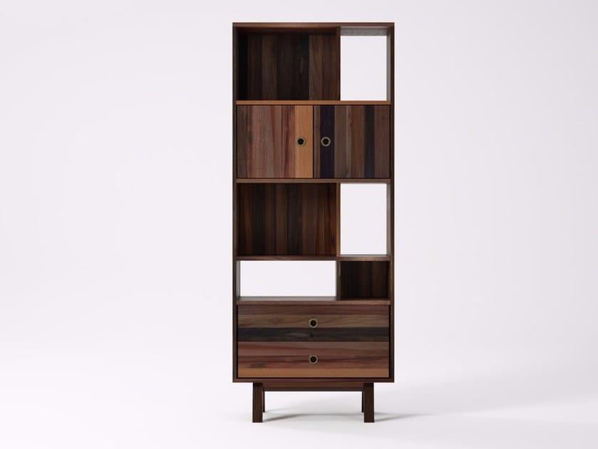 Libreria autoportante in legno di recupero BROOKLYN BF19-MH by KARPENTER