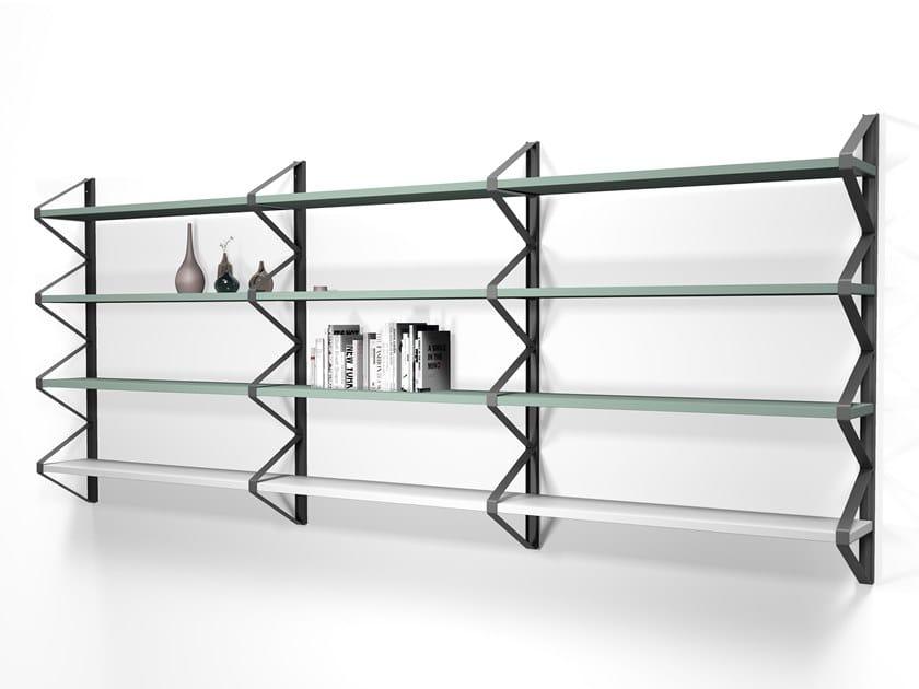 Libreria a giorno sospesa BROOKLYN by Calligaris