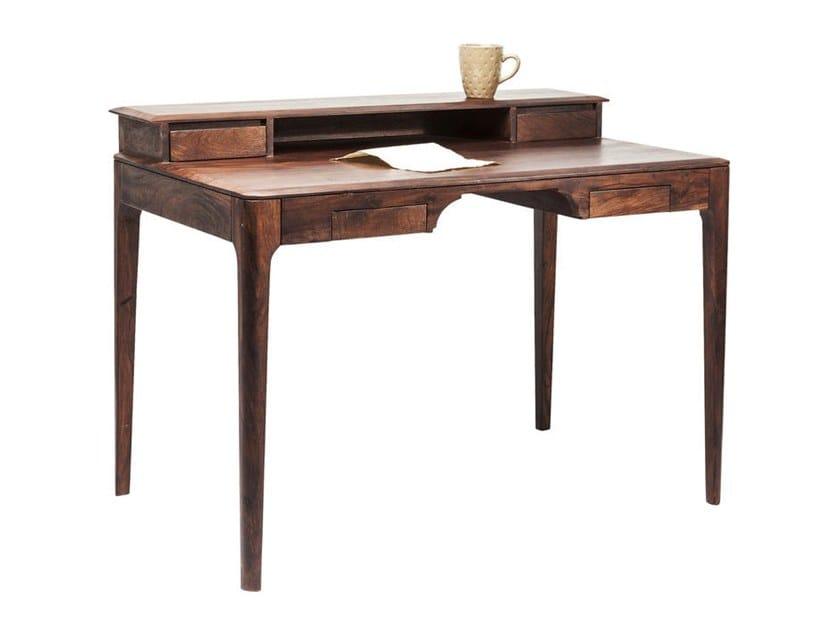 Walnut Secretary Desk Brooklyn By Kare Design