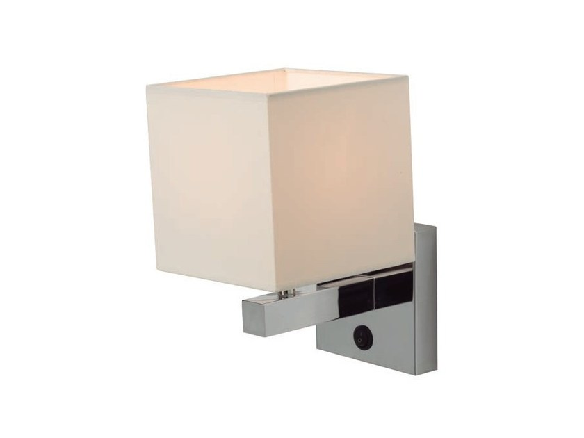 Metal wall lamp with fixed arm BRUCE by Aromas del Campo