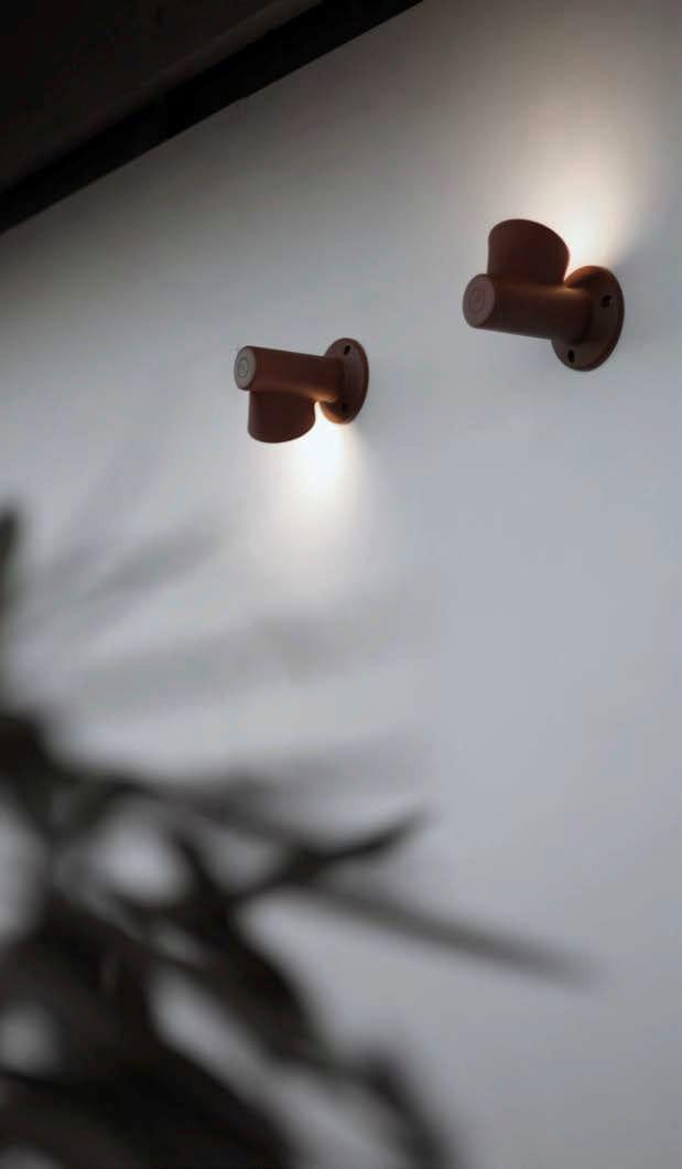 BRUCO | Lampada da parete per esterno