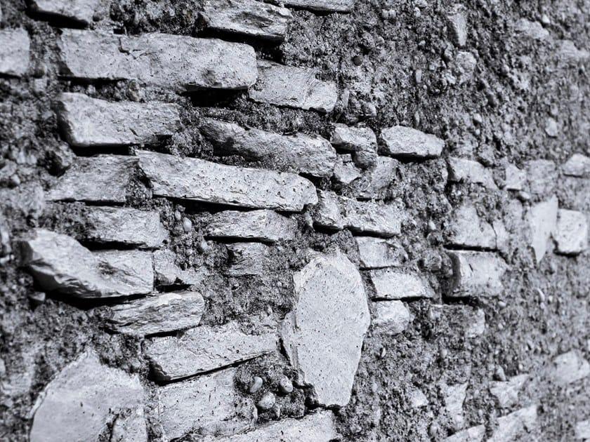 Rivestimento tridimensionale in fibra di vetro effetto pietra BRUDT by Artstone Panel Systems