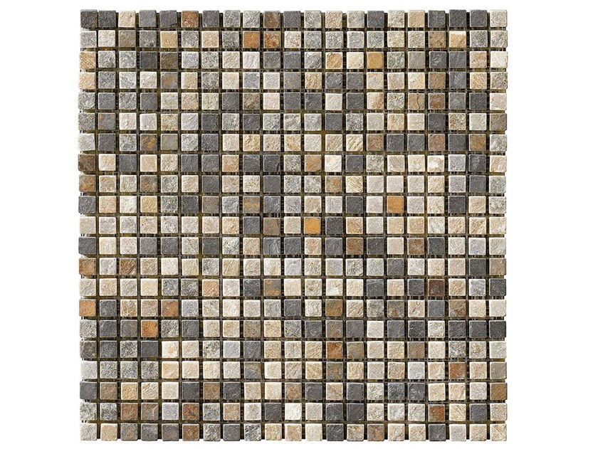 Slate mosaic BRUNICO by BOXER