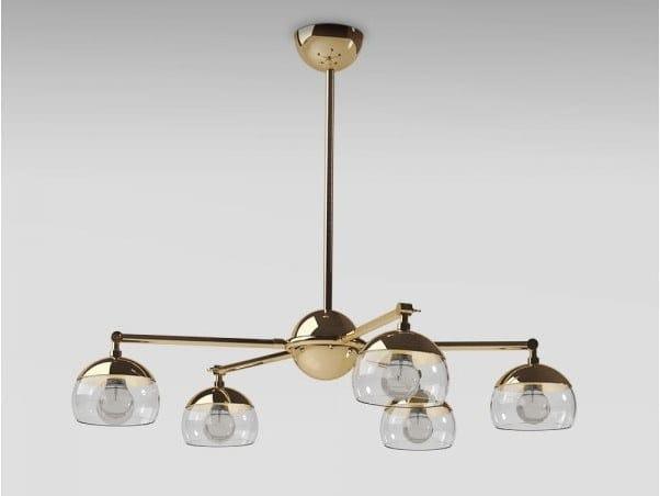 Brass chandelier BRUSSELS | Chandelier by Emotional Projects