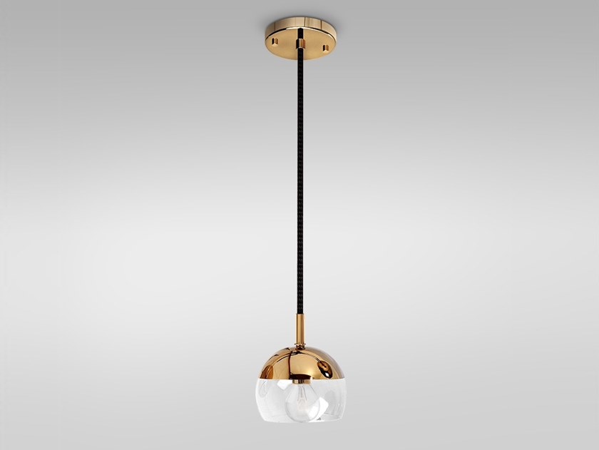 Brass pendant lamp BRUSSELS | Pendant lamp by Emotional Projects