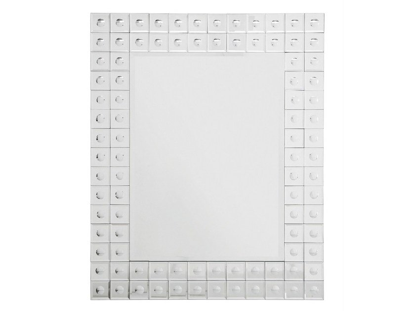 Rectangular wall-mounted mirror BUBBLE 95X75 by KARE-DESIGN
