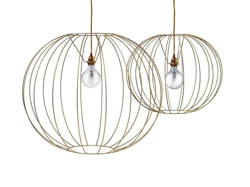 Steel pendant lamp BUBBLE GOLD | Pendant lamp by MissoniHome