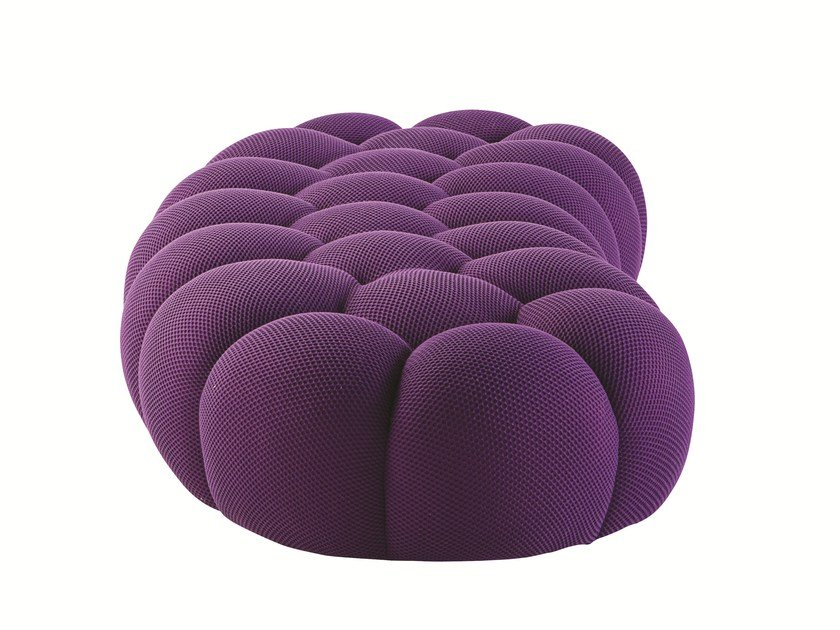 pouf in tessuto bubble pouf roche bobois. Black Bedroom Furniture Sets. Home Design Ideas