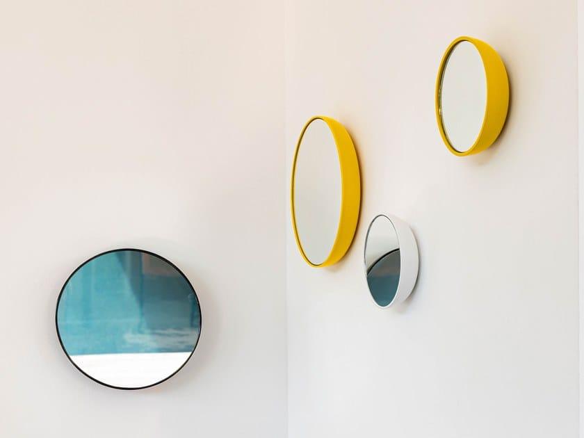 Espelho redondo moldurado de parede BUBBLE by Schönbuch