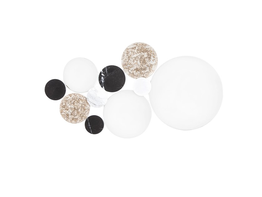 Round wall-mounted mirror BUBBLES by Green Apple