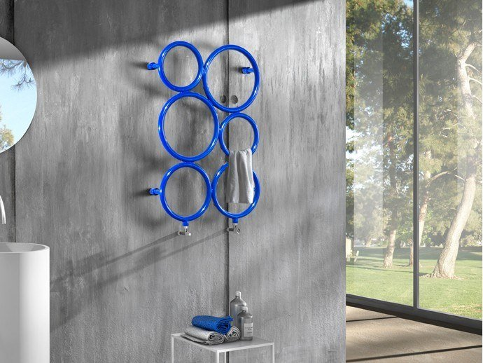 Wall-mounted towel warmer BUBBLES by Hotwave