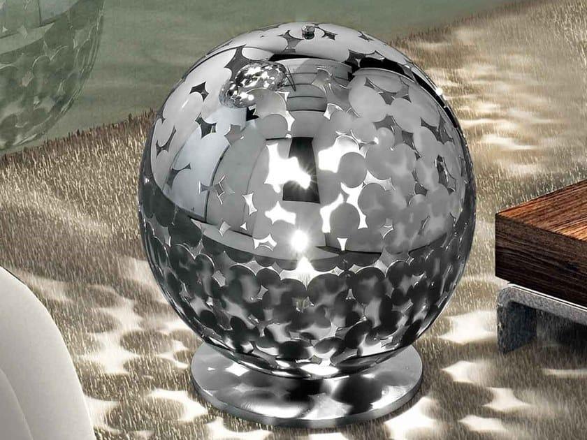 Lampada da tavolo / lampada da terra in metallo BUBBLES by IDL EXPORT