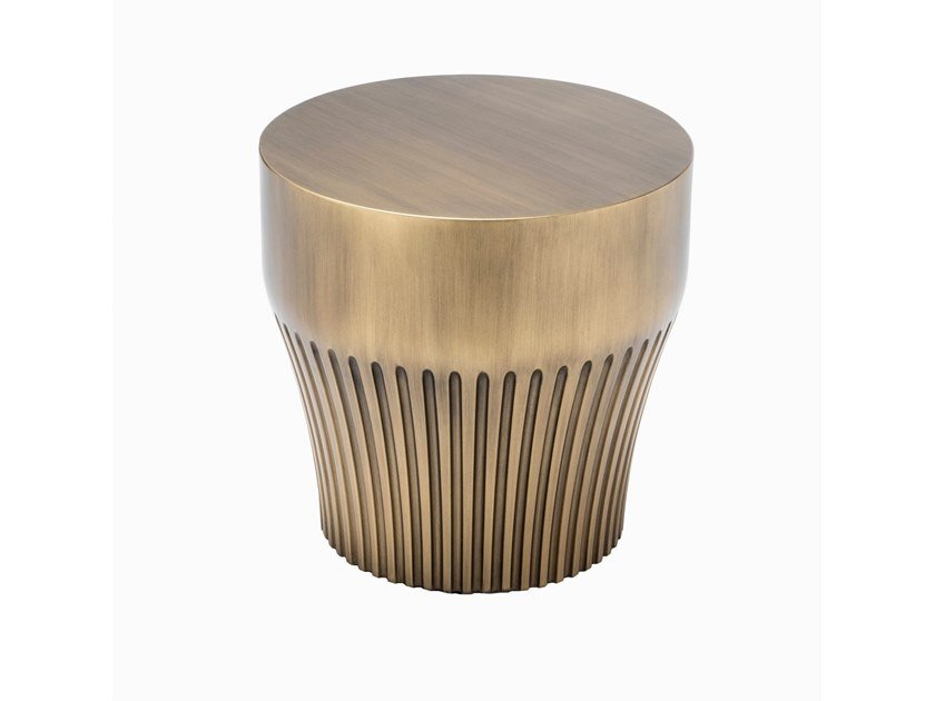 Round coffee table BUCI by HUGUES CHEVALIER