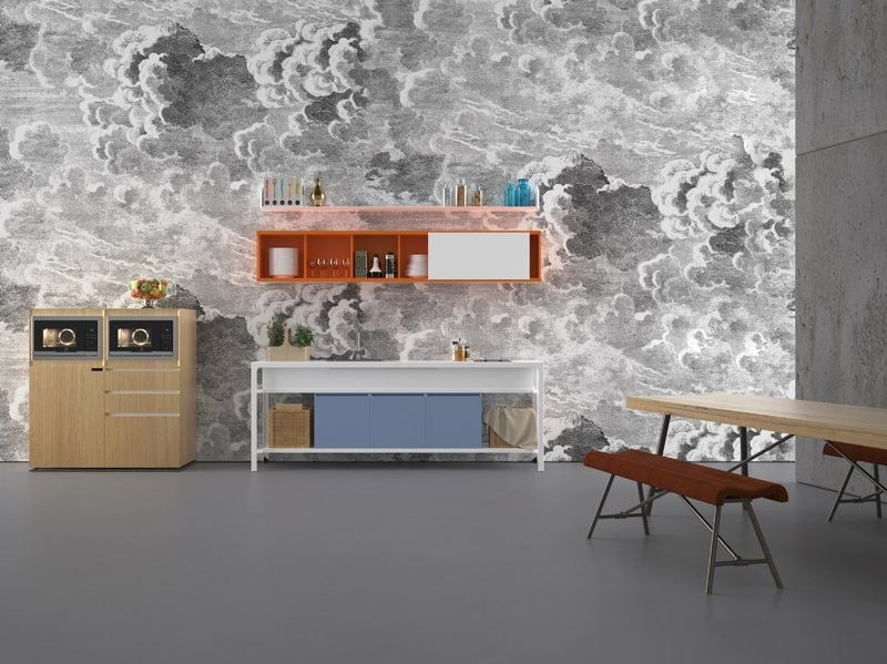 Modulo cucina freestanding componibile BUFFET by ESTEL GROUP