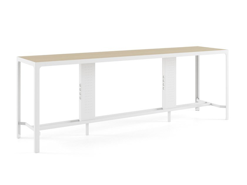 Contemporary style wooden high table BUFFET | High table by ESTEL GROUP