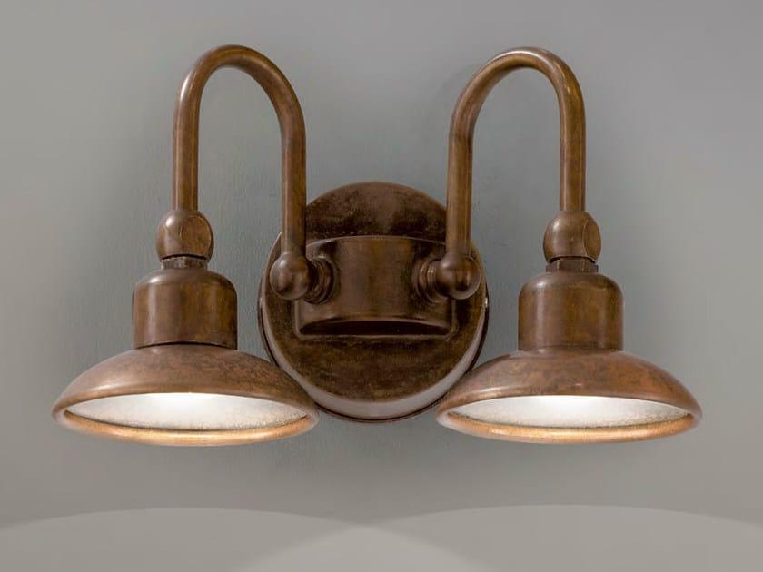 Metal wall lamp BUGATTI | Metal wall lamp by Aldo Bernardi