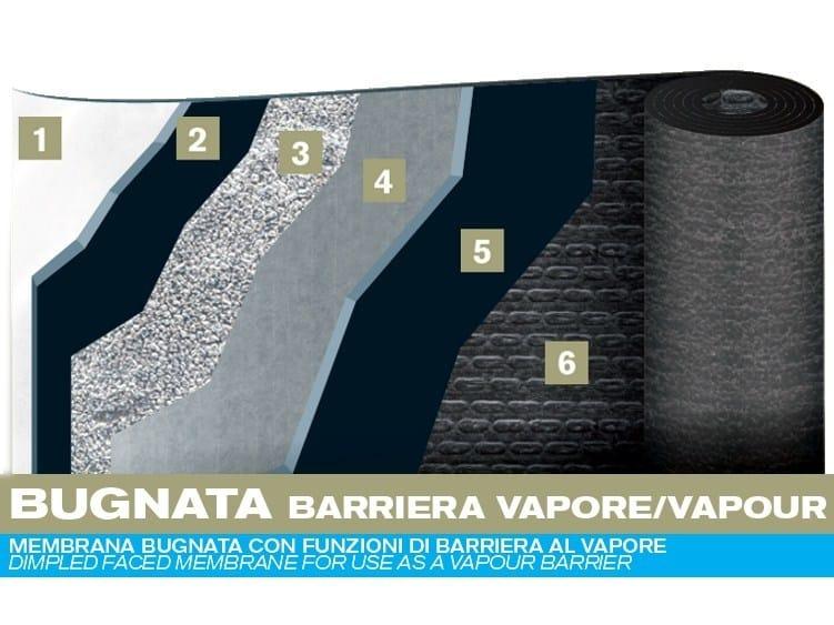 Prefabricated bituminous membrane BUGNATA by PLUVITEC