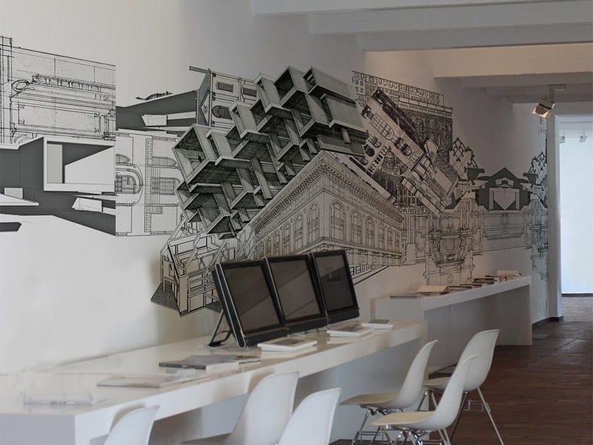 Wallpaper BUILDING by Adriani e Rossi edizioni