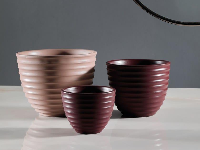 Ceramic centerpiece BULBO RELIEF by Tonin Casa