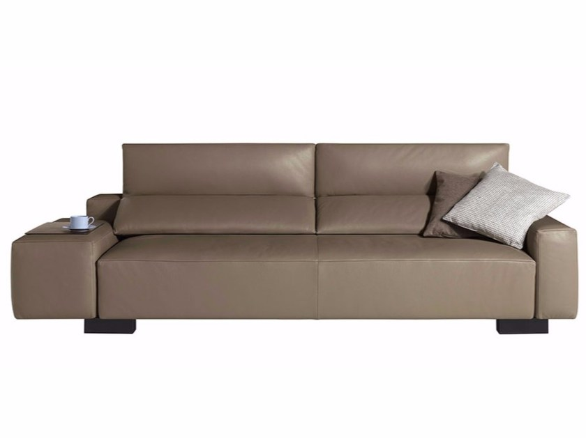 Sectional sofa BULLIT by Poltrona Frau