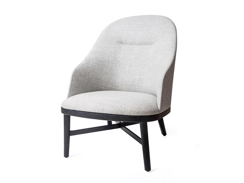 Fabric armchair BUND LOUNGE CHAIR | Fabric armchair by STELLAR WORKS