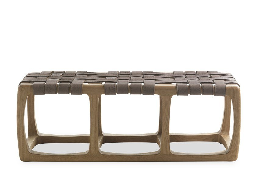 Wooden bench BUNGALOW | Bench by Riva 1920