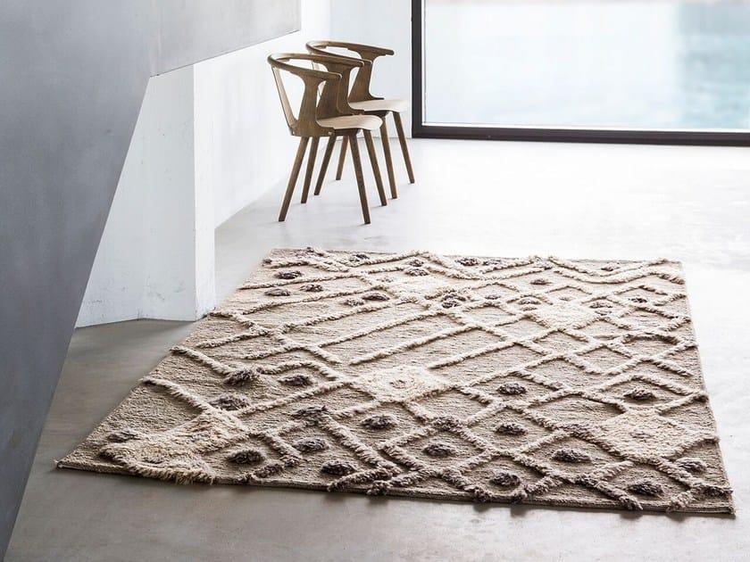 Handmade wool rug BUR-BUR by Massimo Copenhagen