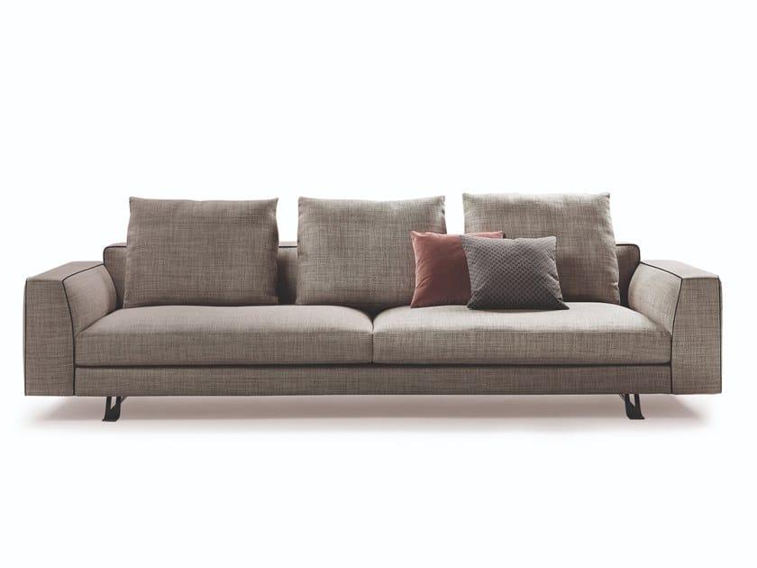Fabric sofa BURTON by Busnelli