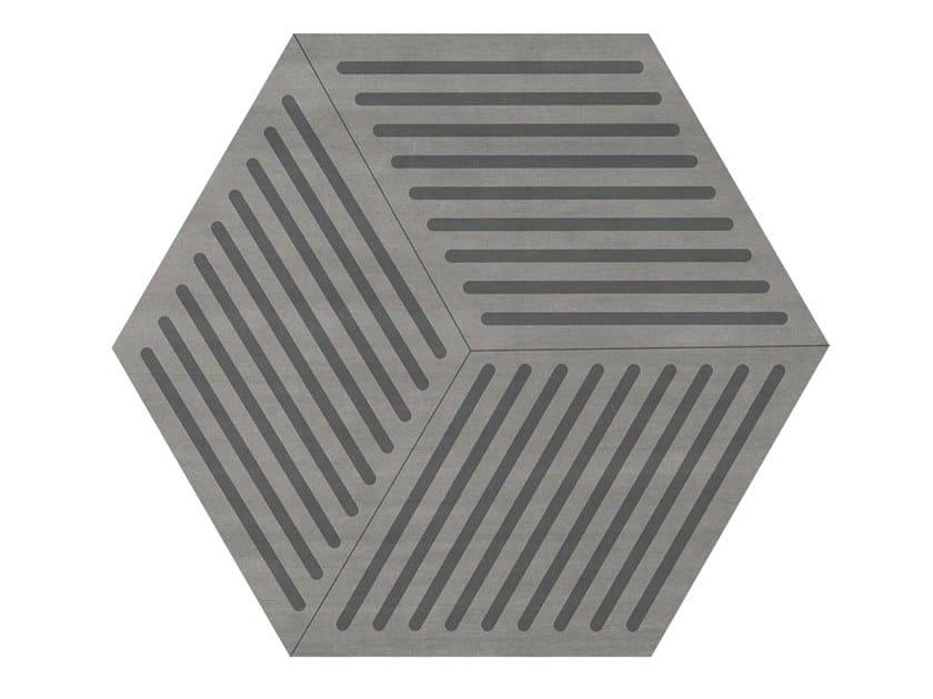 Handmade wool rug with geometric shapes BURTON | Rug by Essential Home