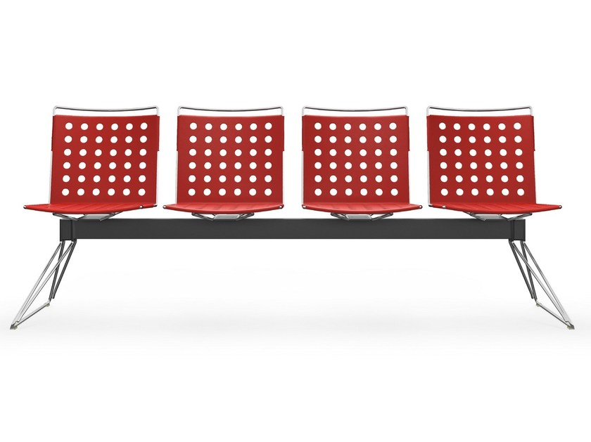 Seduta su barra in alluminio BUSY | Panca by Diemmebi