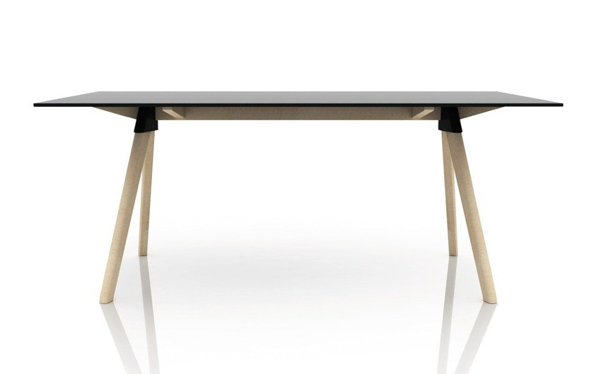 Rectangular HPL table BUTCH – THE WILD BUNCH by Magis