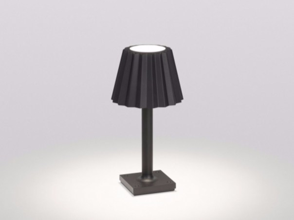 LED aluminium Floor lamp BUTLER P DOWN-UP by Delta Light