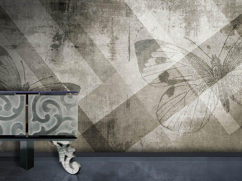 Vinyl or fyber glass wallpaper BUTTERFLY by N.O.W. Edizioni