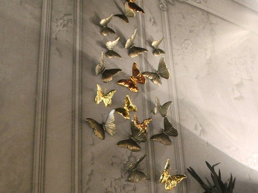 Ceramic Wall Decor Item BUTTERFLY | Wall Decor Item By Adriani E Rossi  Edizioni