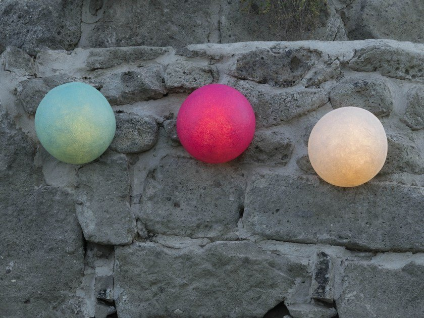 LED Laprene® wall light BUTTON by In-es.artdesign