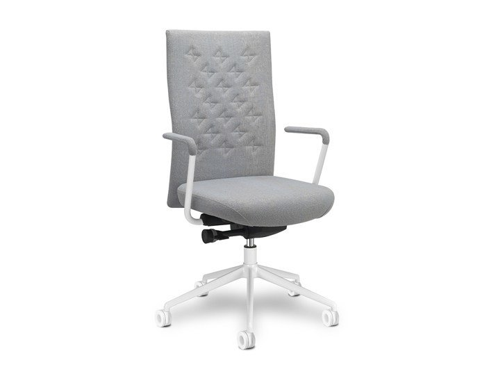 Height-adjustable task chair with 5-Spoke base with armrests Butterfly by SitLand