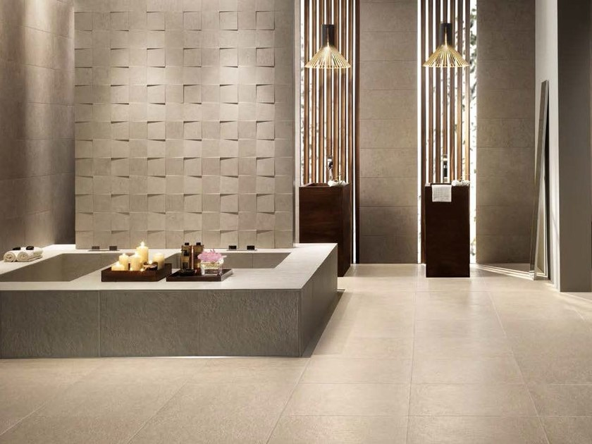 Porcelain stoneware wall/floor tiles with stone effect BUXSTONE by Panaria Ceramica