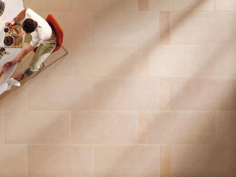 Porcelain stoneware wall/floor tiles with stone effect BUXY - AMANDE by COTTO D'ESTE