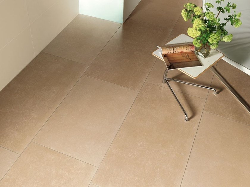 Porcelain stoneware wall/floor tiles with stone effect BUXY - CARAMEL by COTTO D'ESTE