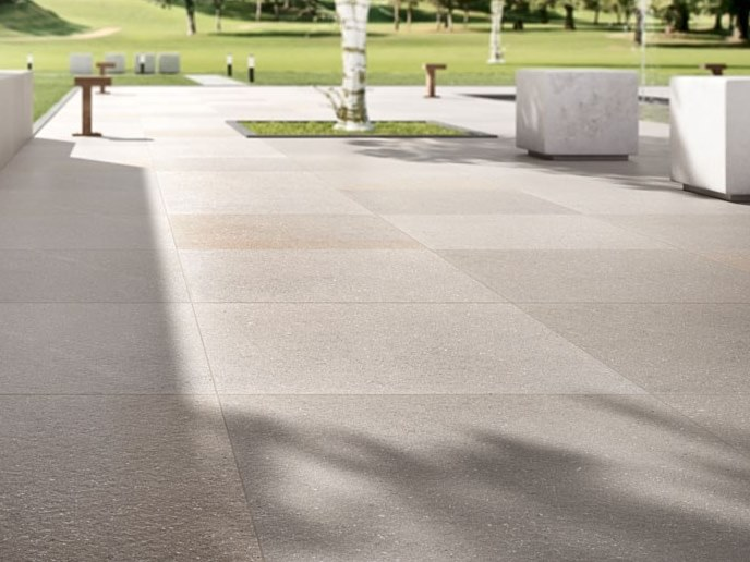 Porcelain stoneware wall/floor tiles with stone effect BUXY - CENDRE FLAMME by COTTO D'ESTE