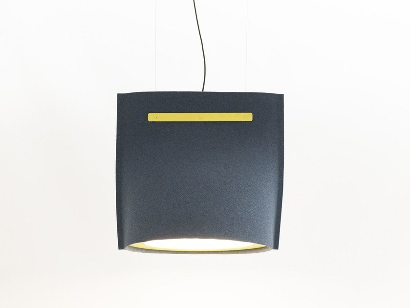 LED felt pendant lamp BUZZIBELL by BuzziSpace